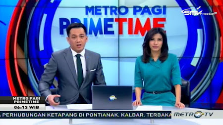 Frekuensi siaran MetroTV di satelit ABS 2 Terbaru