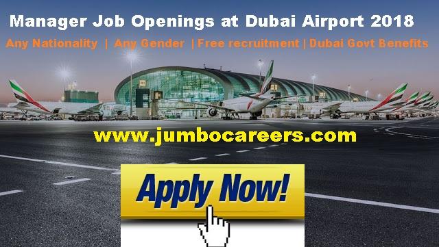Dubai airport free recruitment 2018, Dubai airport jobs 2018 salary, Manager salary in Dubai International Airport. Latest Job openings at Dubai Airport 2018.