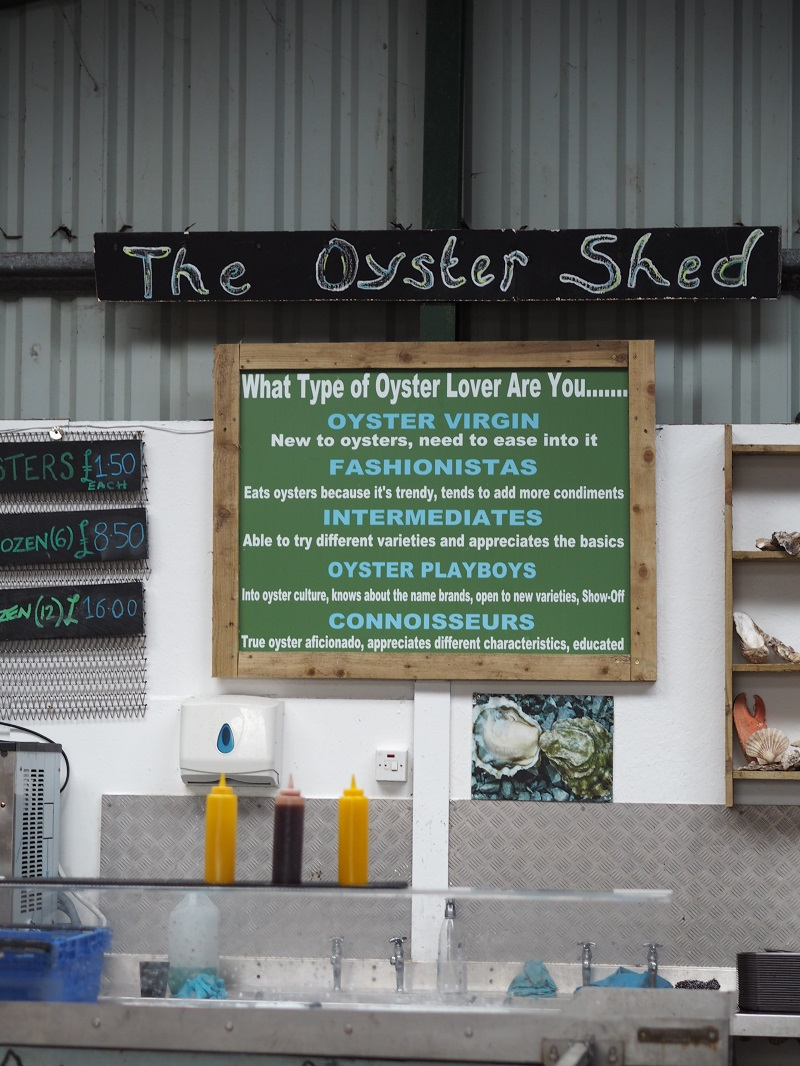 The Oyster Shed in Carbost, Skye