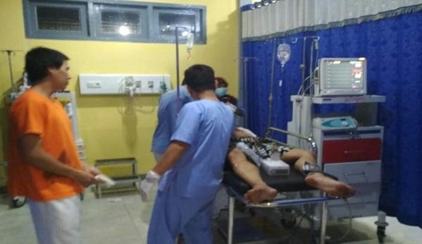 Percobaan Bunuh Diri, Warga Sekadau Selamatkan MS Berlumuran Darah