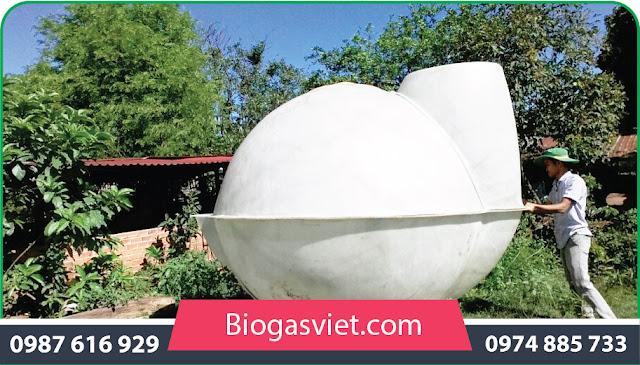 làm hầm biogas bằng nhựa