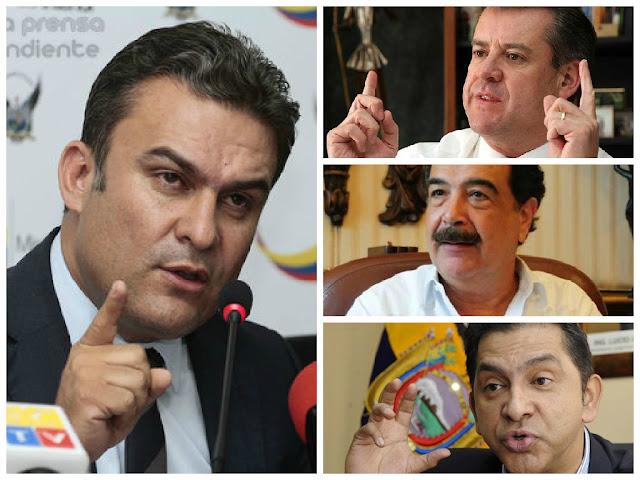 jose serrano denunció posible actos vandalicos en las marchas #25J