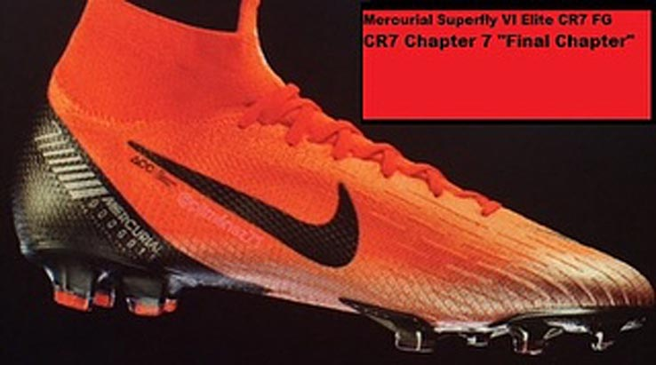 2720ffd47d26bd Final Chapter - Nike Cristiano Ronaldo Chapter 7 2018-2019 Boots + ...