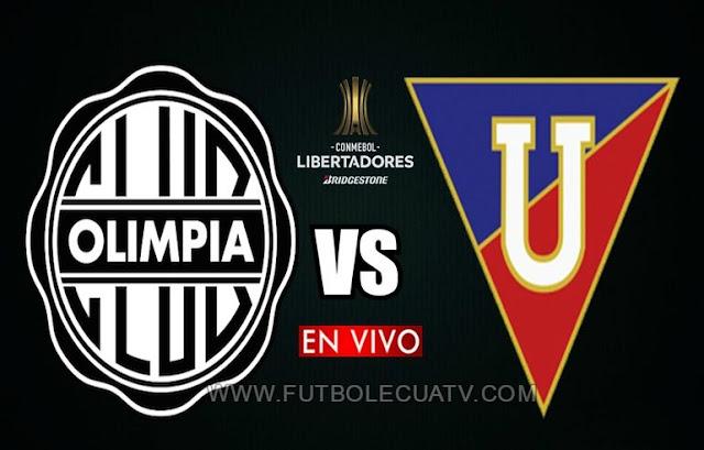 Olimpia se mide ante LDU Quito en vivo 🔴 a partir de las 19:30 horario local por los octavos de final vuelta de la Copa Libertadores 🏆 a realizarse en el Estadio Defensores del Chaco, con arbitraje principal de Diego Haro de nacionalidad peruana siendo emitido por el canal oficial Fox Sports 3.