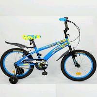 16 wimcycle voltus bmx sepeda anak
