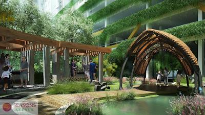 Ý tưởng thiết kế dự án Season Avenue
