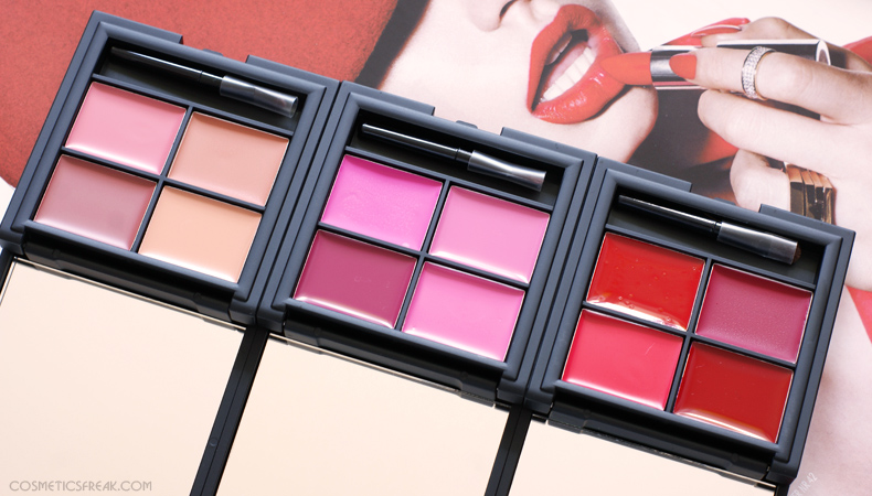 sleek lip4 palette