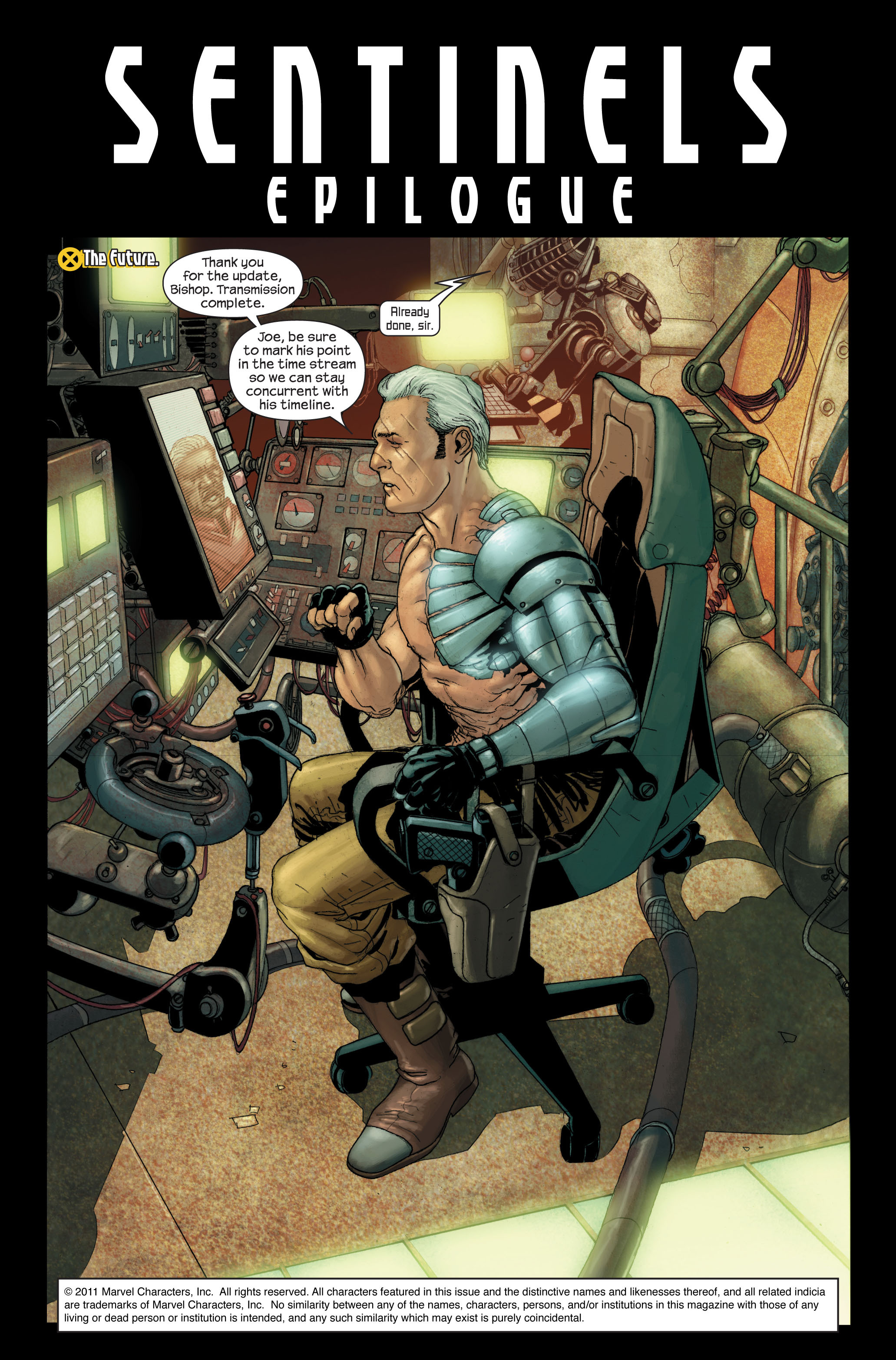 Read online Ultimate X-Men comic -  Issue #88 - 2
