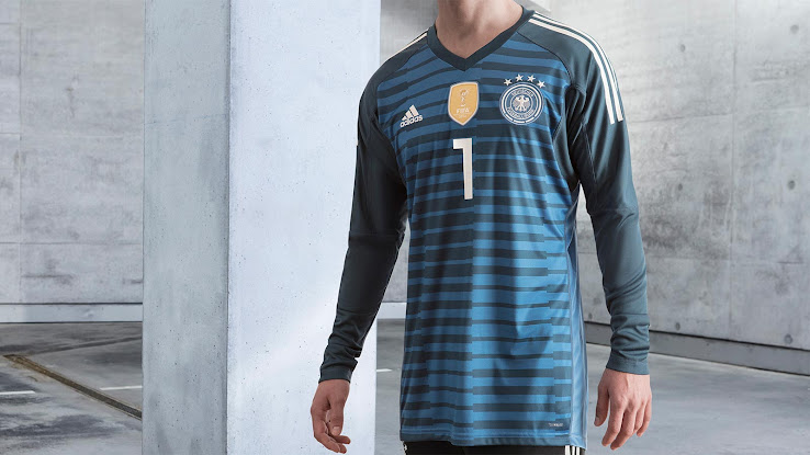 6aa6c28cc3b Germany 2018 World Cup Goalkeeper Kit Released - Footy Headlines