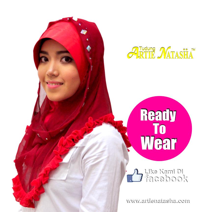 style gaya tudung popular terbaru 2014 pilihan Muslimah blog