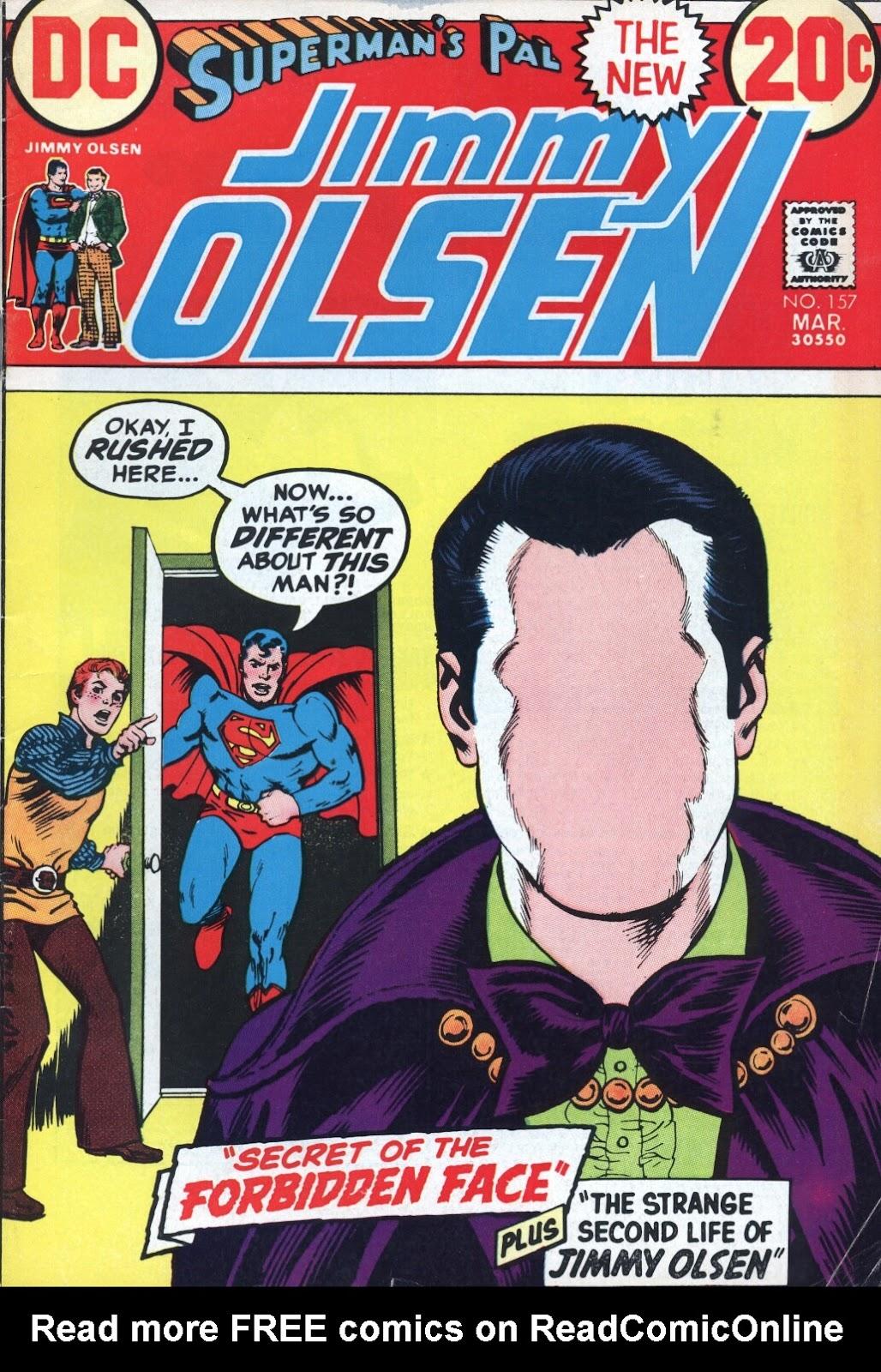 Supermans Pal Jimmy Olsen (1954) 157 Page 1