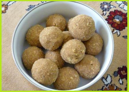 Aata Pinni Recipe in Hindi