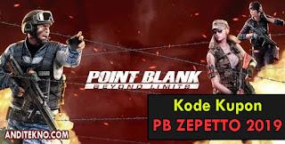 Kode Kupon PB Zepetto 2019 Gratis Terbaru