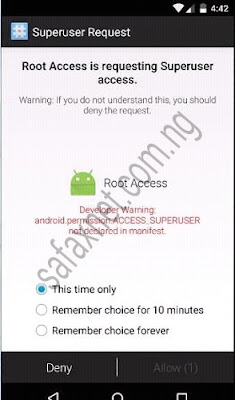 First Easy Method To Unroot Any Android Smartphone Using SuperSU