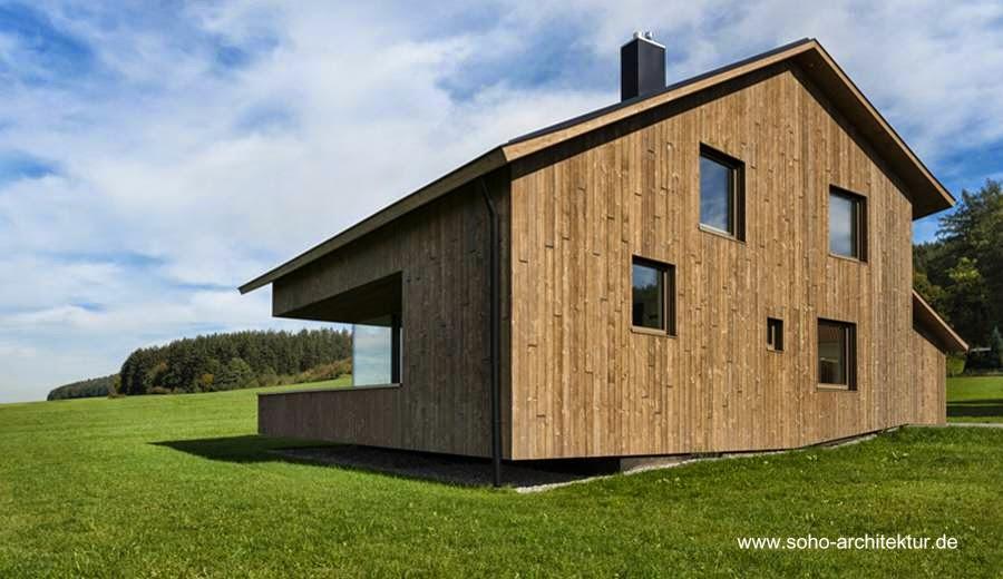 Chalet contemporáneo de madera en Alemania