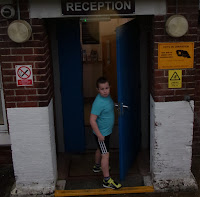 eastney swimming pool reception door