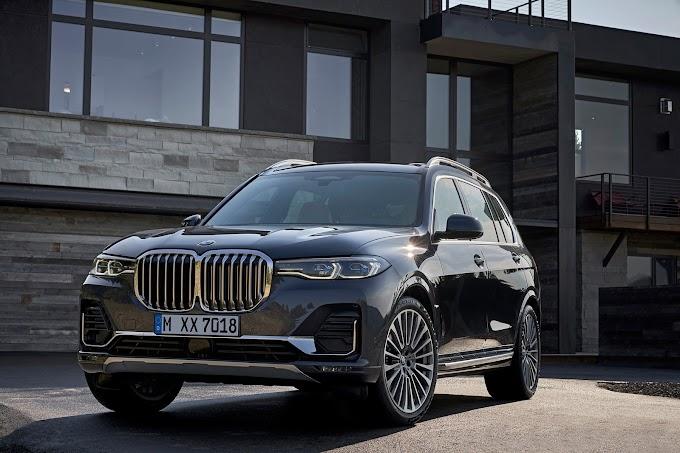 Компания BMW выводит на рынок прямого конкурента Range Rover и Mercedes-Benz GLS