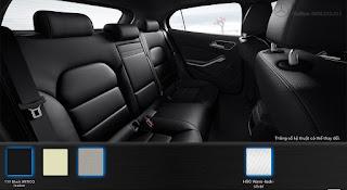 Nội thất Mercedes GLA 200 2017 màu Đen Artico 111