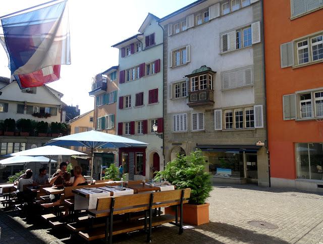 Restaurant Turm, Zunfthaus zur Letzi Napfgasse Spiegelgasse Zurich Old Town