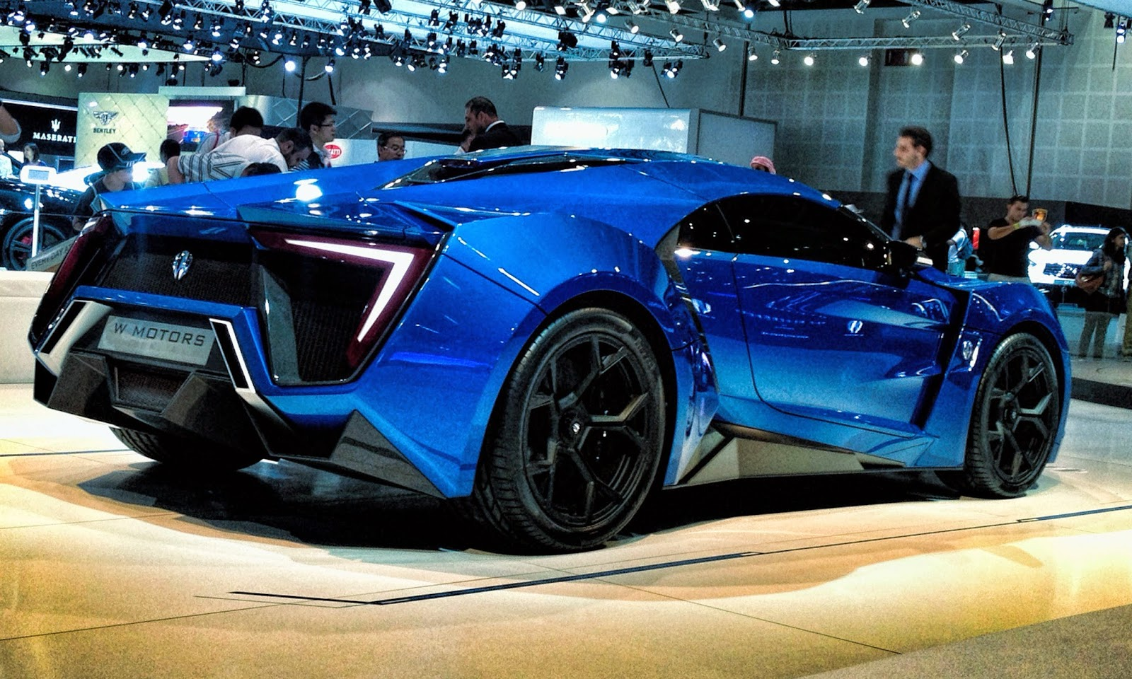 Lykan Hypersport Super Car