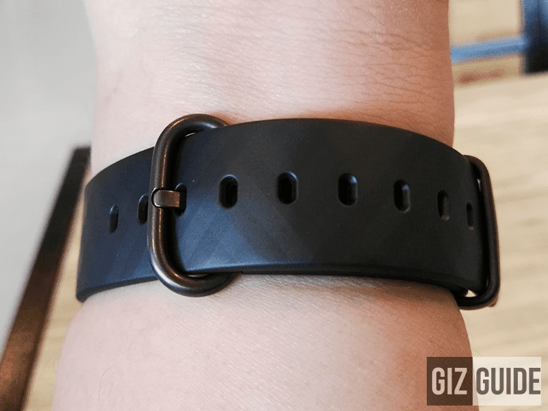 The TPU rubber wrist band