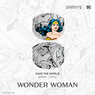 Your little one will be ready for action in this black-and-white, crime-fighting comic strip-inspired design, 'Save The World JR'.  #SaveTheWorldJrJN  © DC Comics. (s17) Noel Giger Jamberry