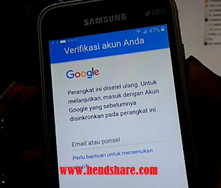 Bypass Lupa Akun Google Galaxy V2 j1 mini Prime J106B Tested