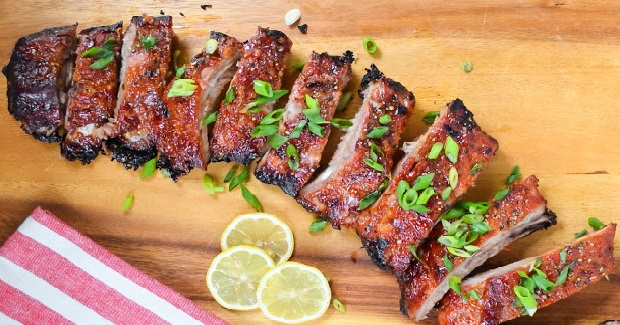 Sticky Sweet And Sour Baby Back Ribs Recipe