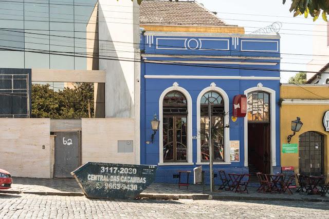 Uma casa azul