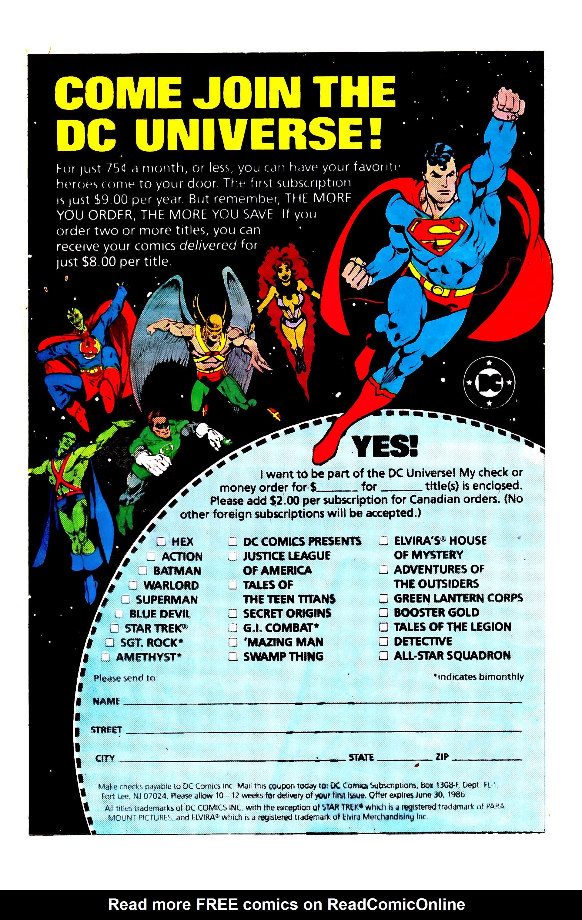 Read online Secret Origins (1986) comic -  Issue #4 - 24