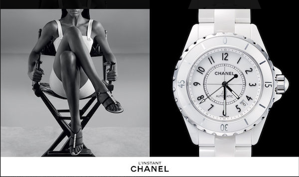 fashiontent: Sprezzatura ! Chanel L' instant watch