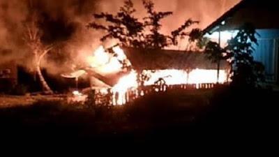 Api Menghanguskan Rumah Makan Salero Bundo Kito
