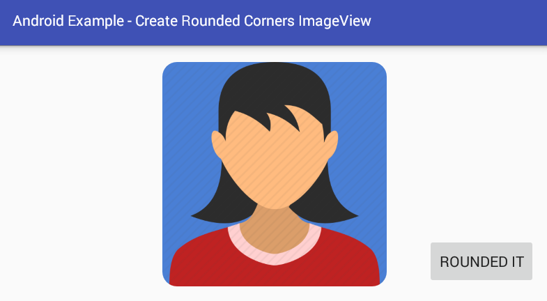 android - How to create rounded corners ImageView