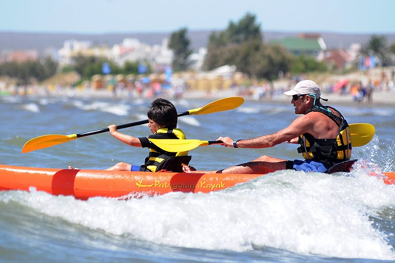 Escuela de mar recreación educativa en Puerto Madryn
