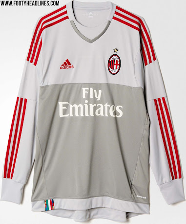 1a4cc6619 AC Milan 15-16 Kits Revealed - Footy Headlines