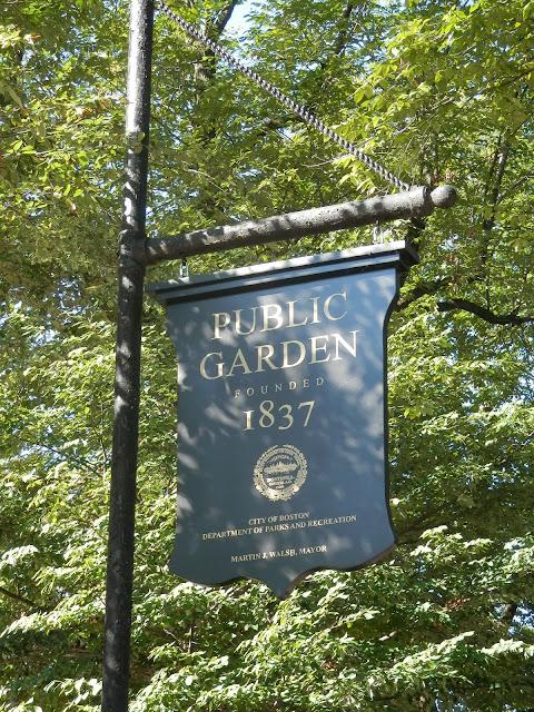 Public Garden Boston