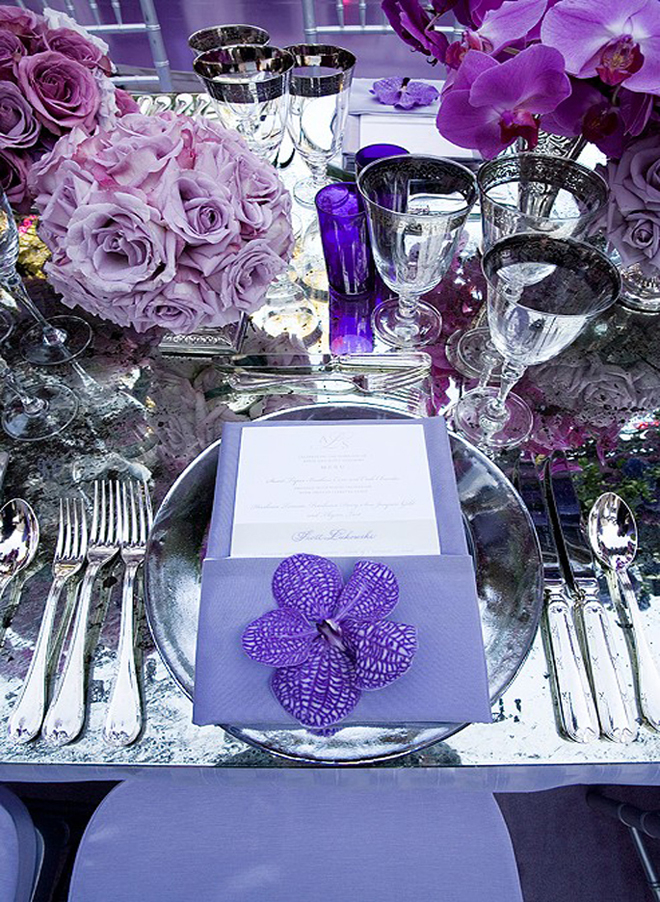 Wishahmon Blog Wedding Reception Place Settings