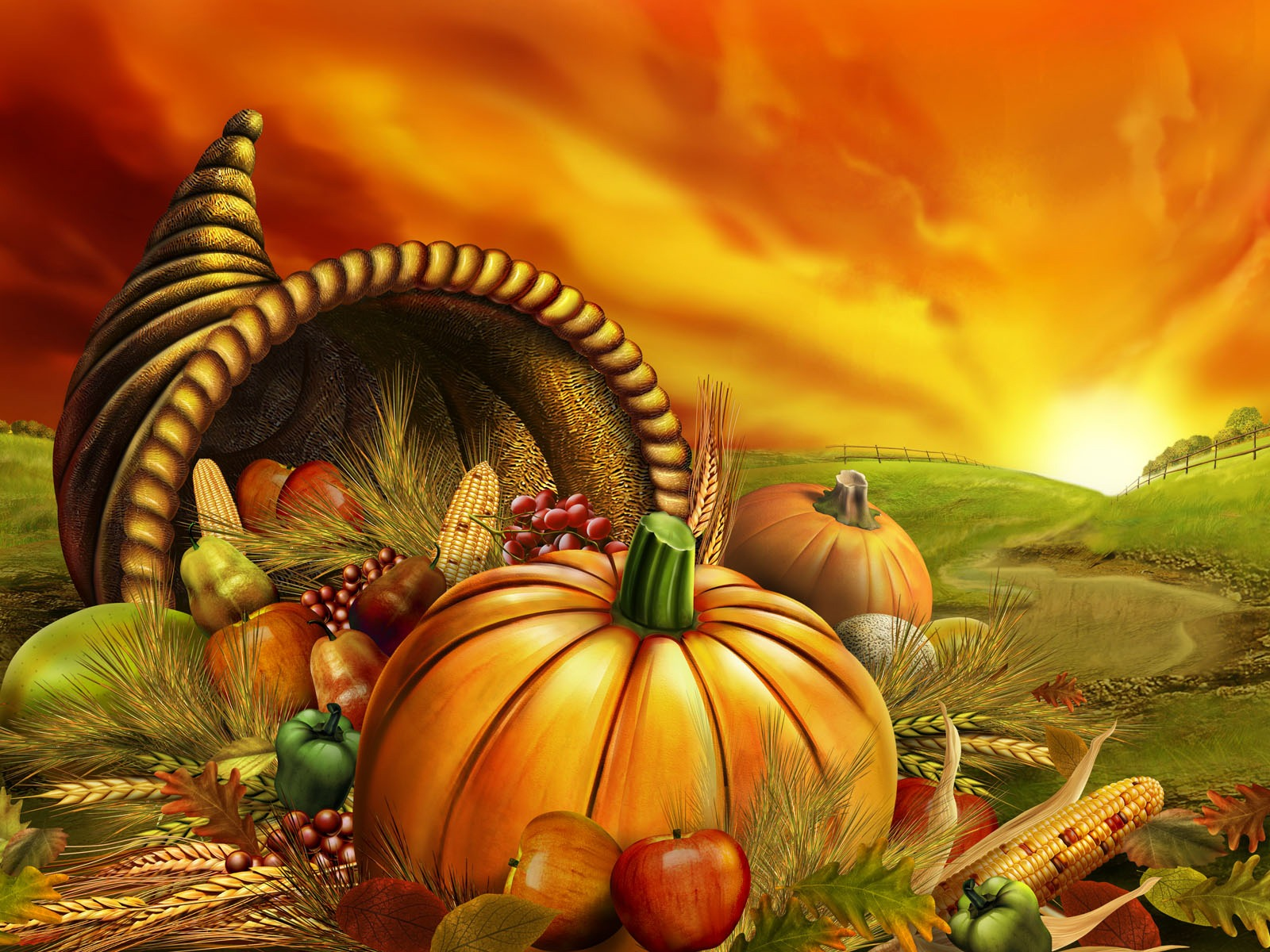 Fall Desktop Wallpaper With Pumpkins Thanksgiving Party Ideas 7thriv