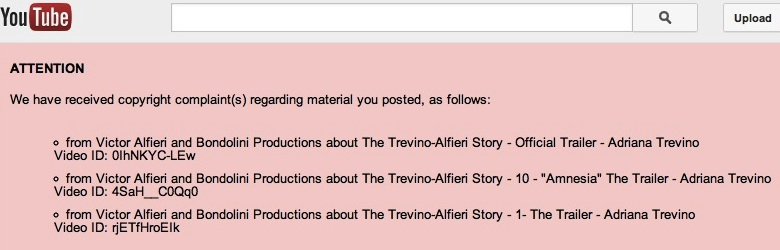 The Trevino Story: Copyright Infringement???