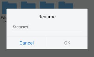 Rename statuses folder