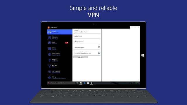 تحميل برنامج VPN Shield لويندوز 10 للكمبيوتر