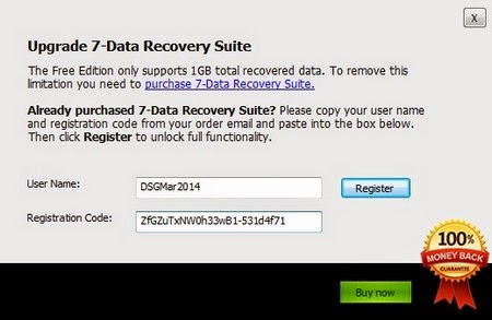 7 data photo recovery registration code