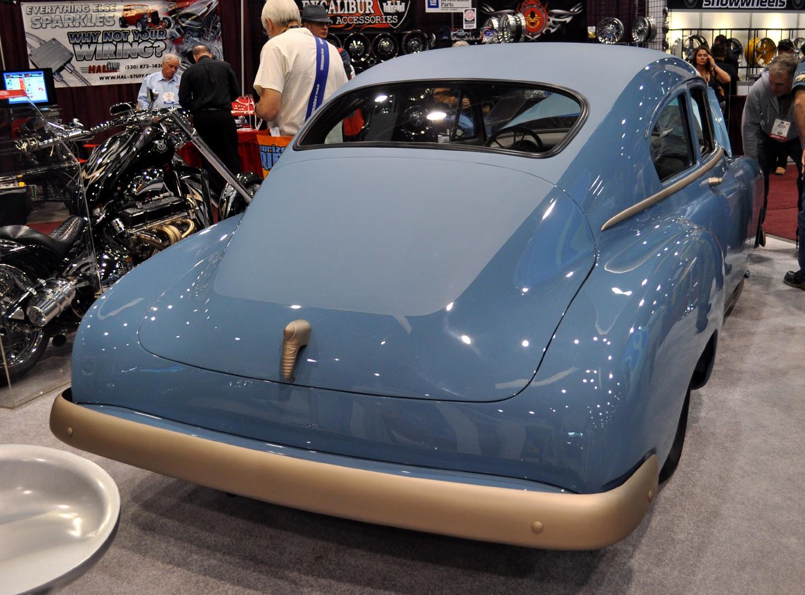 Just A Car Guy The 1950 Fleetline Custom Of Strange
