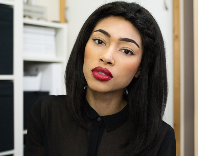 FOTN | Red Lips & Winged Liner