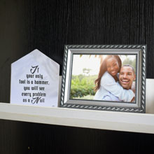 Silver and Black Picture Frame in Port Harcourt, Nigeria