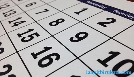 Penggunaan Hari, Bulan, Tahun Bahasa Inggris