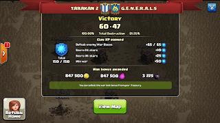 Clan TARAKAN 2 vs G.E.N.E.R.A.L.S, TARAKAN 2 Win