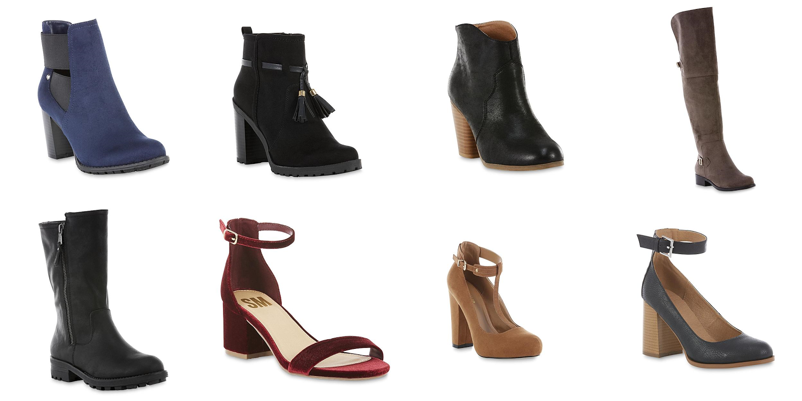 009c42a4500 Kmart have these Women s boots   heels are on clearance for  7.49