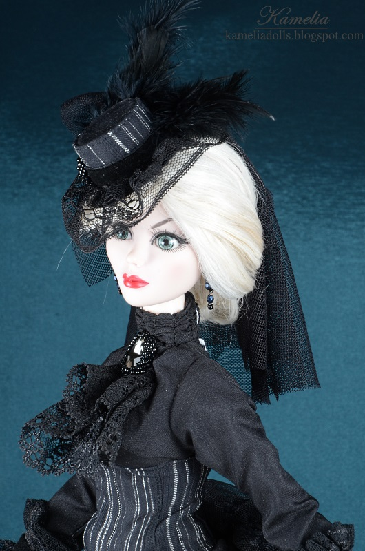 Handmade hat for a doll.