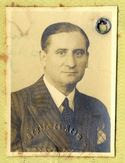 Walter Schulze-Bernett - 1938 passport photo  (from Passport-Collector site - used with permission)